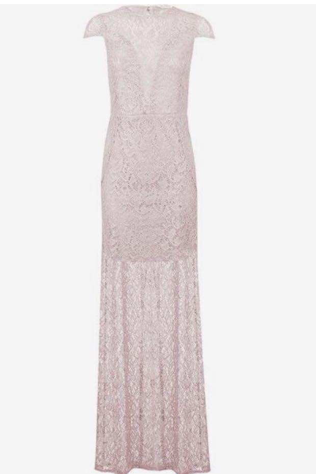 Miss Selfridge - Lilac Evening Dress, Preloved Women\'s Fashion ...