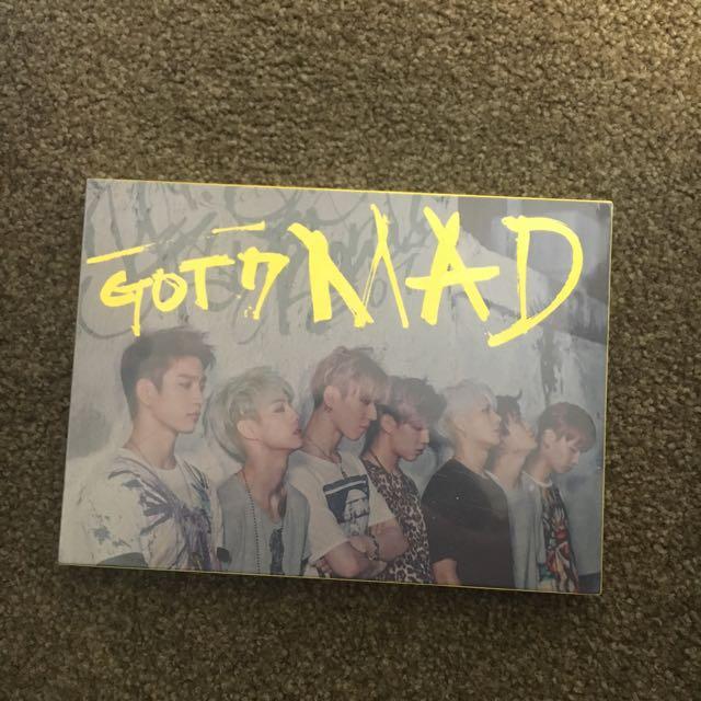 NEW Got7 Mad album