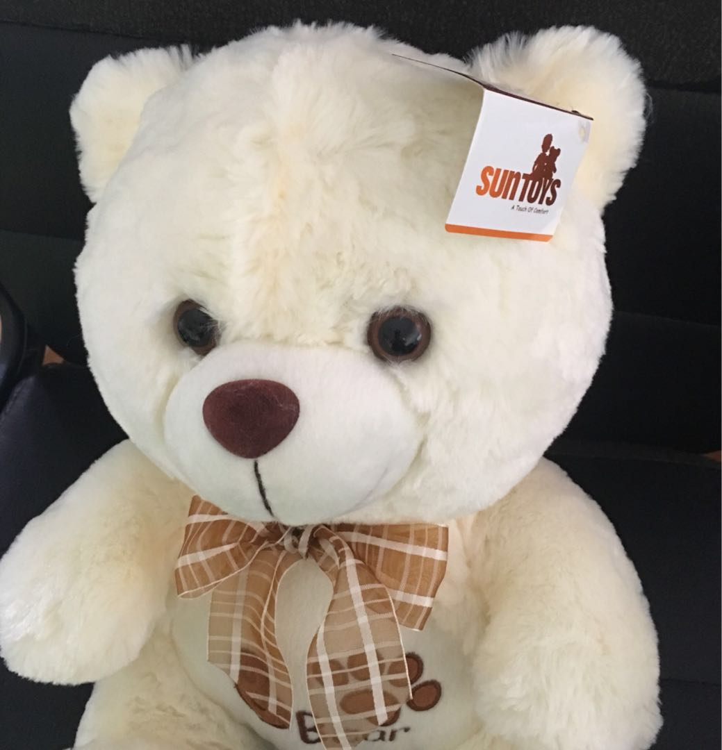 New With Tag. Cuddly Bear