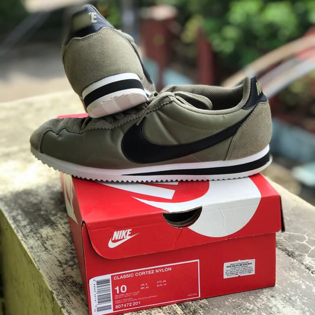 Nike Cortez Nylon Classic Trooper Mens Fashion Footwear On Carousell