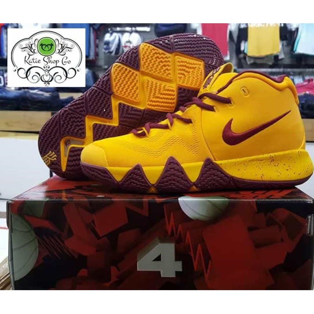 6f04392f28b NIKE KYRIE 4 MENS BASKETBALL SHOES - KYRIE 4 RUBBER SHOES