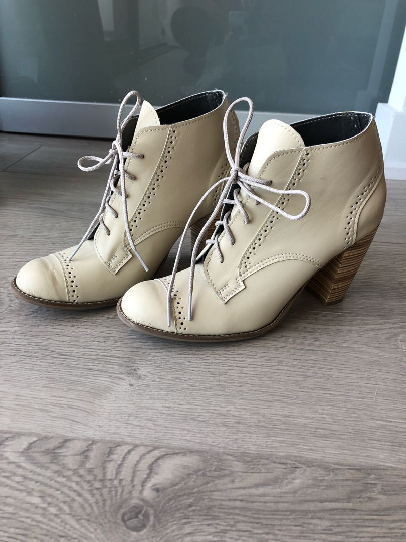 Oxford Ankle Booties