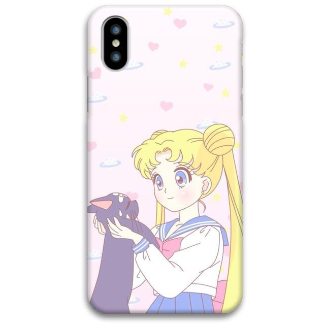 Sailor Moon iPhone X Soft Plastic Case