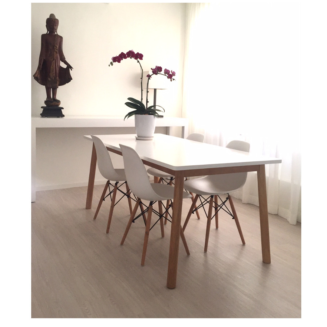 Scandinavian Style Dining Table And