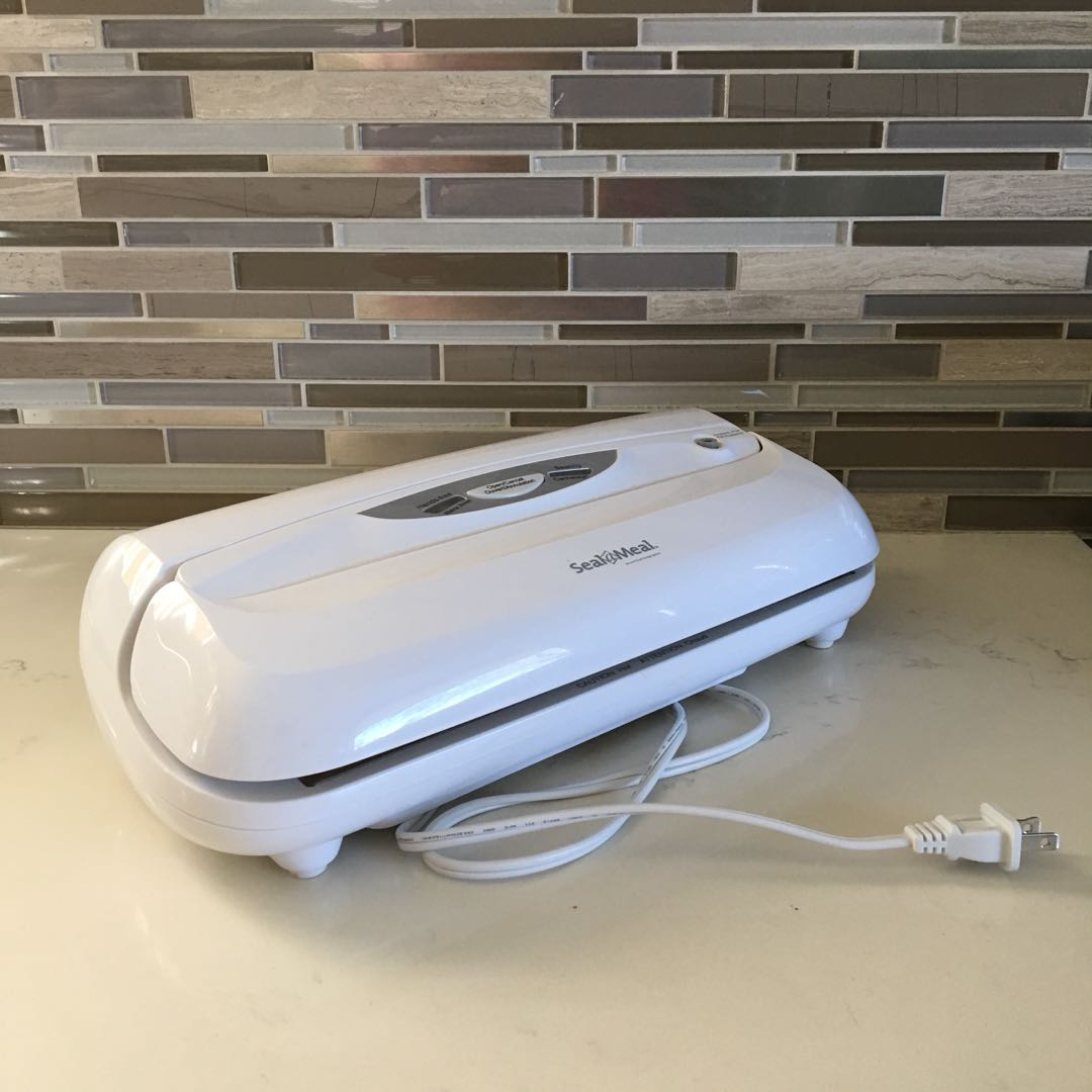 Seal a meal, vacuum food sealer