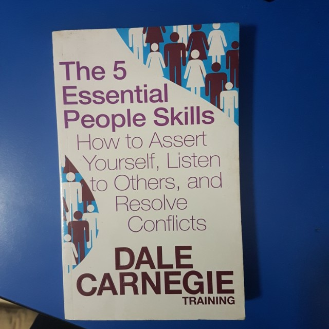 The 5 Essential People Skills By Dale Carnegie Books Stationery