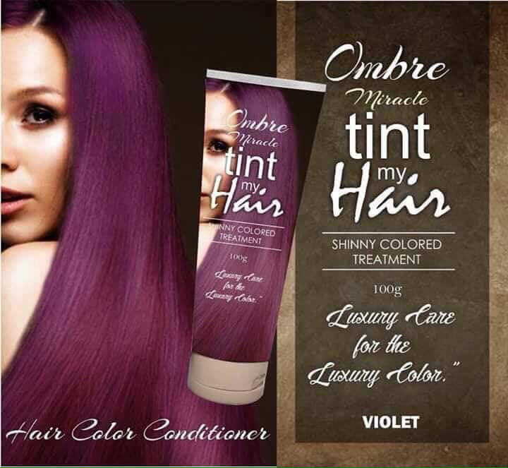 Tint Hair Color Online Shop Preorder Beauty Products On Carousell