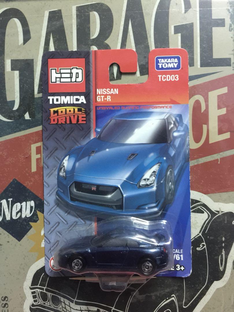Tomica Lot Nissan GT-R (TCD01-03), Mainan & Game, Alat Mainan Lain di Carousell