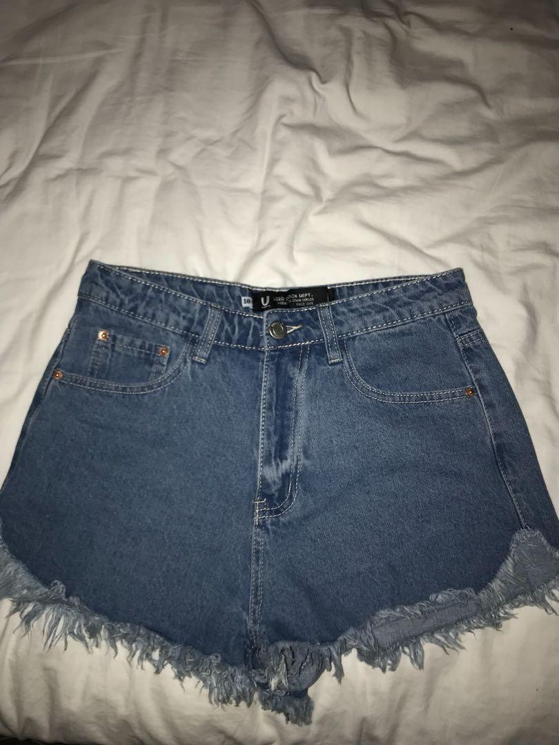 """""""used"""" shorts"""