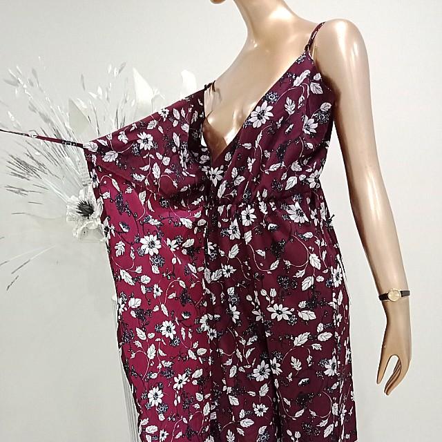 NEW Wrap Pant suit floral