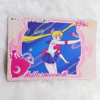 日版:美少女戰士 白咭 No. 180 Bandai 1994