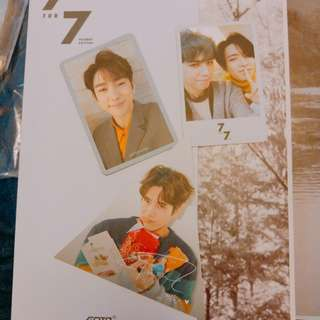 GOT7 7FOR7 PRESENT EDITION 小卡