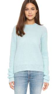 T by Alexander Wang Mohair Crew Neck Sweater