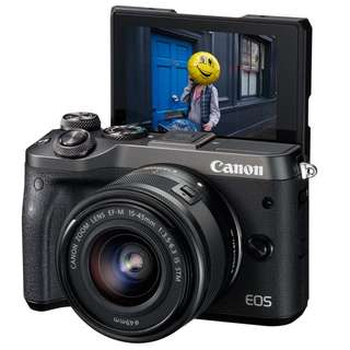 Canon M6 Kit 15-45mm