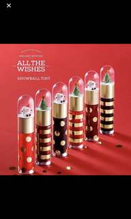 The face shop all the wishes 聖誕節 唇蜜 唇彩