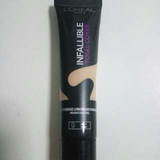 L'oreal Paris Infallible Total Cover
