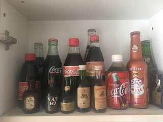 Coca Cola Fanta bottles 80s 90s