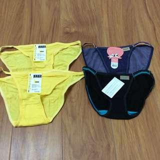 莫代爾三角內褲(4件裝)