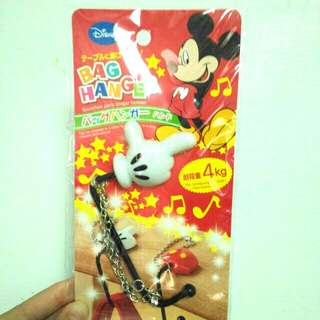 🚚 全新👏👏👏日本購入 迪士尼 包包掛鉤 掛鉤 無痕掛鉤#一百元好物