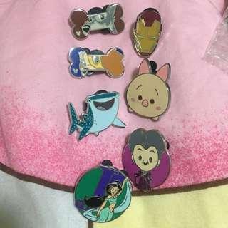 Disney pin trading 迪士尼徽章