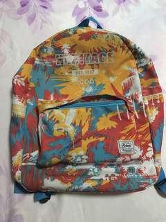 Tropical Print Backpack