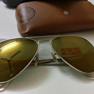 Rayban Aviator RB3025 W3276 58-14 (Mirror Gold)