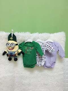 Baby Rompers 3pcs