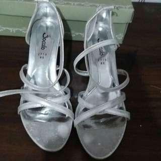 Bocalo Silver High Heels