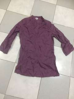Pre loved long polo blouse