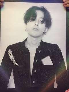G-Dragon Mademoiselle Prive HK show poster