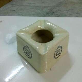 Malaya Diamond Porcelain Senior Service Ashtray Vintage