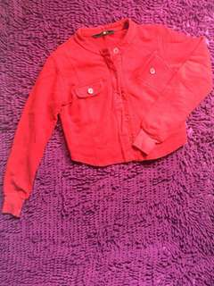 Rustans red jacket