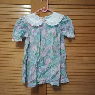 Dress bunga anak cantik