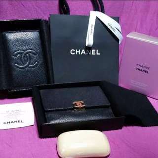 Chanel Card Case and Wallet Set