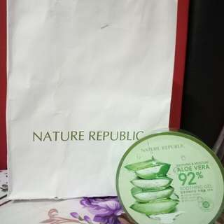 Open Jastip Nature Republic Aloe Vera Soothing Gel