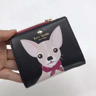 Kate Spade New York Chihuahua Short Wallet