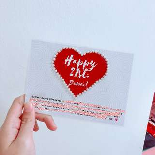 [FREE CUSTOMISATION] Gift Cards Birthday Cards