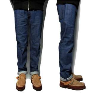 (二手)LESS - SELVAGE DENIM PANT( 14oz ) - STANDARD 日本岡山製 原色單寧褲