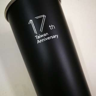 Starbucks Limited 17th Taiwan Tumbler