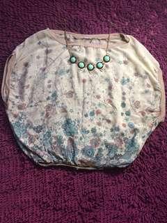 Linea Italia floral blouse #everythingmustgo #movingout #Original