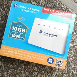 Globe AT HOME prepaid wifi FREE SHIPPING