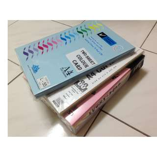 A4 Simili Colored Paper (Assorted Color)(approx. 600 sheets)