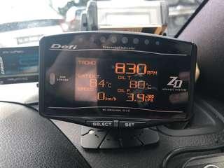 Defi ZD Advance Meter
