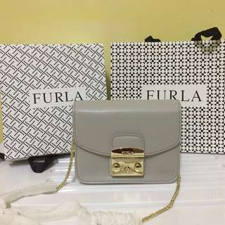 [RS] Furla Julia Mini Crossbody Sabbia B