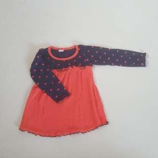 Preloved tshirt dress 9-12 months