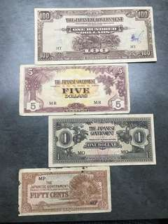 1940s Japan notes