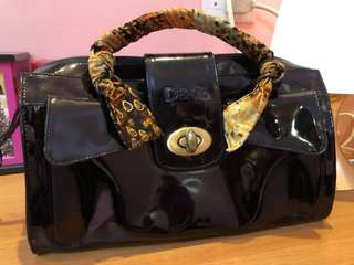 Authentic Dolce and Gabbana Patent Handbag