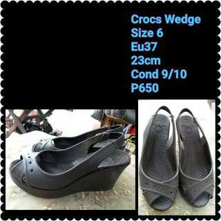 Wedge Crocs