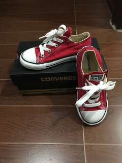 Converse All-Stars Red (for toddler) #Converse #Chucks #ChuckTaylors