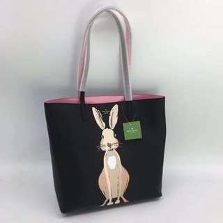 Kate Spade Bunny Tote Bag